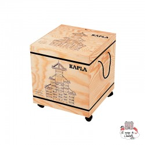 Kapla Nature 1000 Pack - KAP-K1000 - Kapla - Wooden blocks and boards - Le Nuage de Charlotte