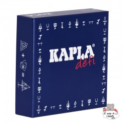 Kapla Challenge (FR) - KAP-KBD-FR - Kapla - Wooden blocks and boards - Le Nuage de Charlotte
