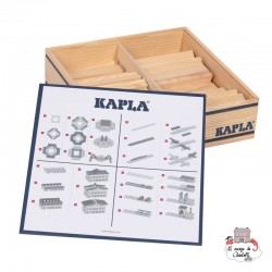 Kapla Nature 100 Case - KAP-KAPLA100 - Kapla - Wooden blocks and boards - Le Nuage de Charlotte