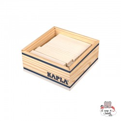 Kapla Color 40 Squares - white - KAP-K1BLA - Kapla - Wooden blocks and boards - Le Nuage de Charlotte