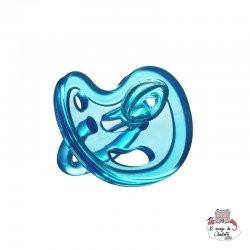 Silicone Pacifier blue 6+ - Orthodontic - EVK0007 - EcoViking - Pacifier - Le Nuage de Charlotte