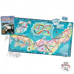 """Ticket to Ride - Map Col. 7 """"Japan"""" - DOW-75182 - Days of Wonder - for the older - Le Nuage de Charlotte"""