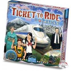 "Ticket to Ride - Map Col. 7 ""Japan"" - DOW-75182 - Days of Wonder - Board Games - Le Nuage de Charlotte"