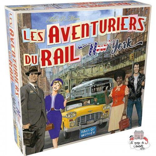 Les Aventuriers du Rail - New York - DOW-75172 - Days of Wonder - pour les plus grands - Le Nuage de Charlotte