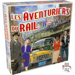 Ticket to Ride - New York - DOW0021 - Days of Wonder - for the older - Le Nuage de Charlotte