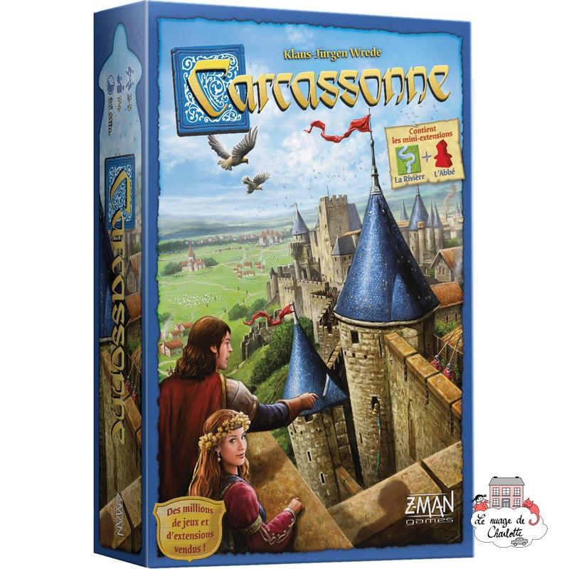 Carcassonne - ZMA-70348 - Z-Man - for the older - Le Nuage de Charlotte