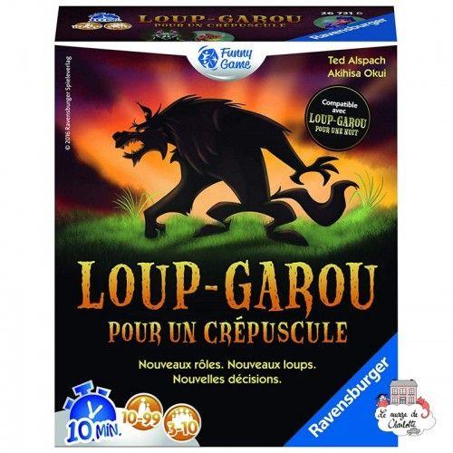 Loup-Garou pour un crépuscule - RAV-267316 - Ravensburger - Board Games - Le Nuage de Charlotte