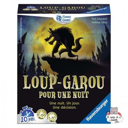 Loup-Garou pour une Nuit - RAV-266814 - Ravensburger - Board Games - Le Nuage de Charlotte