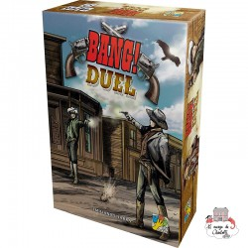 Bang! DUEL - DVG-19936 - dV Giochi - Board Games - Le Nuage de Charlotte