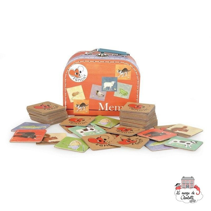 Memo Farm - EGT0003 - Egmont Toys - for the little ones - Le Nuage de Charlotte