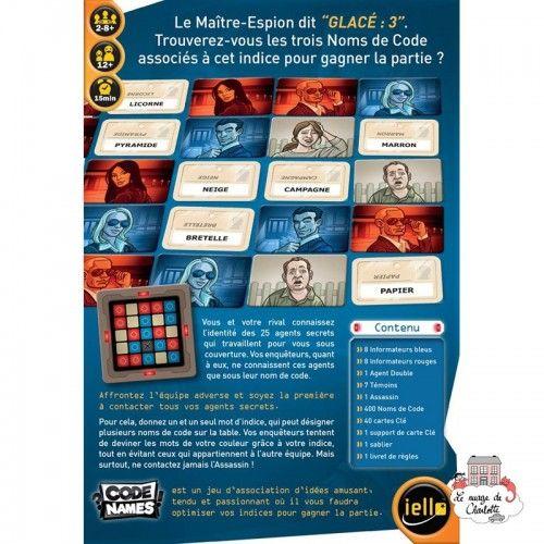 CodeNames - IEL-51285 - Iello - Board Games - Le Nuage de Charlotte