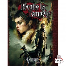 Vampire: The Requiem 2nd edition - Exp. Harvest the Storm - SAG0004 - Studio Agate - Role-Playing Games - Le Nuage de Charlotte