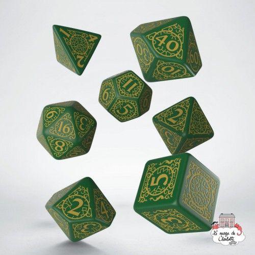 Pathfinder Jade Regent Dice Set (7) - QWO0001 - Q Workshop - Dices, bags and other accessories - Le Nuage de Charlotte