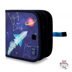 "Chalk Book ""Space"" - JJB0017 - Jaq Jaq Bird - Drawing and Coloring - Le Nuage de Charlotte"