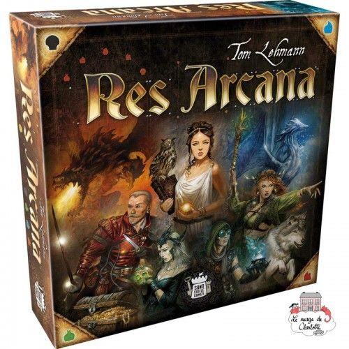 Res Arcana - SCG-NOV000096 - Sand Castle Games - Jeux de société - Le Nuage de Charlotte