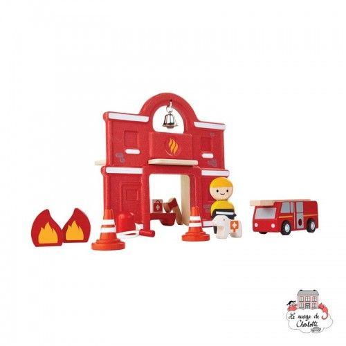 Fire Station - PLT-6619 - PlanToys - Figures and accessories - Le Nuage de Charlotte