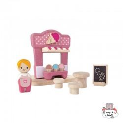Ice Cream Shop - PLT-6614 - PlanToys - Figures and accessories - Le Nuage de Charlotte
