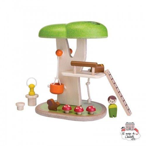 Tree House - PLT-6626 - PlanToys - Figures and accessories - Le Nuage de Charlotte