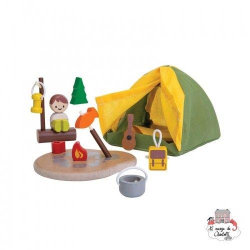 Camping Set - PLT-6624 - PlanToys - Figures and accessories - Le Nuage de Charlotte