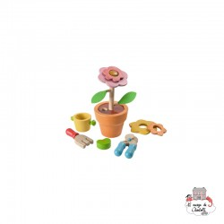 Flower Set - PLT-4608 - PlanToys - DIY and Gardening - Le Nuage de Charlotte
