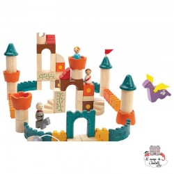 Fantasy Blocks - PLT-5696 - PlanToys - Wooden blocks and boards - Le Nuage de Charlotte