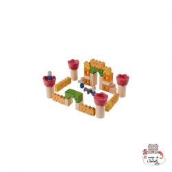 Castle Blocks - PLT-5651 - PlanToys - Wooden blocks and boards - Le Nuage de Charlotte