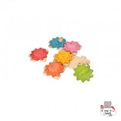 Gears & Puzzles - Standard - PLT-5634 - PlanToys - Activity Toys - Le Nuage de Charlotte