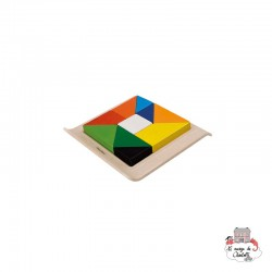 Twisted Puzzle - PLT-5649 - PlanToys - Activity Toys - Le Nuage de Charlotte