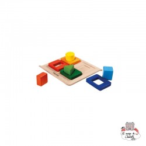 Shape Sorter - PLT-5646 - PlanToys - Activity Toys - Le Nuage de Charlotte