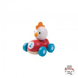 Chicken Racer - PLT-5679 - PlanToys - Push along - Le Nuage de Charlotte