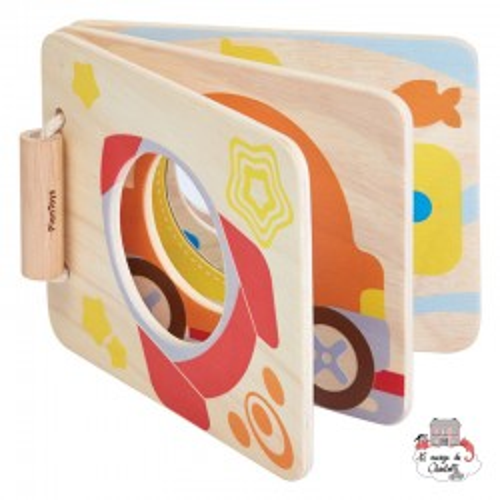 Livre miroir bébé - PLT-5243 - PlanToys - Jouets d'activité - Le Nuage de Charlotte