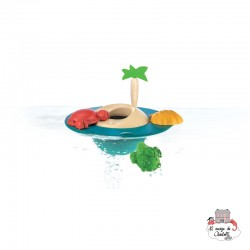 Floating Island - PLT-5713 - PlanToys - Water Play - Le Nuage de Charlotte