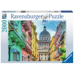 Colourful Cuba - RAV0023 - Ravensburger - 2000 pieces - Le Nuage de Charlotte