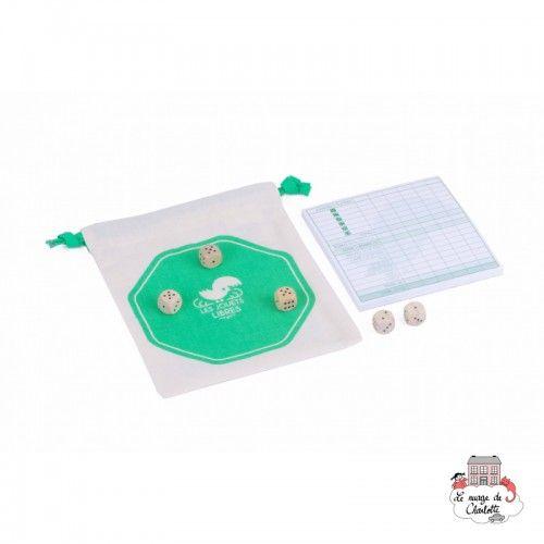 Yatzy - LJL-0005 - Les Jouets Libres - Board Games - Le Nuage de Charlotte