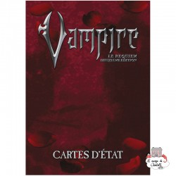 Vampire: The Requiem 2nd edition - State Cards - SAG-AGARPG-VAMP5 - Studio Agate - Role-Playing Games - Le Nuage de Charlotte