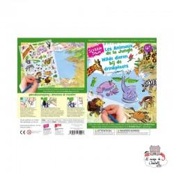 Decalcomania - Wilde Adventures at the waterhole - SCD-SD003 - Scribble Down - Decalcomania - Le Nuage de Charlotte
