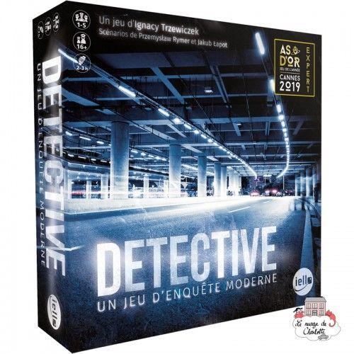 Detective - Un jeu d'enquête moderne - IEL-51566 - Iello - Board Games - Le Nuage de Charlotte