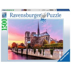 Picturesque Notre-Dame - RAV0027 - Ravensburger - 1500 pieces - Le Nuage de Charlotte