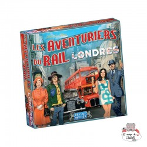 Les Aventuriers du Rail - Londres - DOW-75183 - Days of Wonder - pour les plus grands - Le Nuage de Charlotte