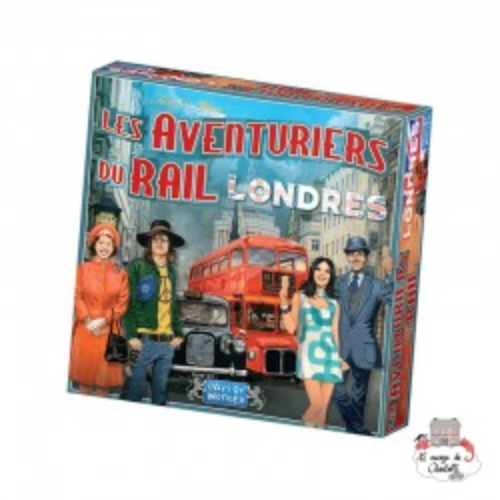 Les Aventuriers du Rail - Londres - DOW0022 - Days of Wonder - for the older - Le Nuage de Charlotte