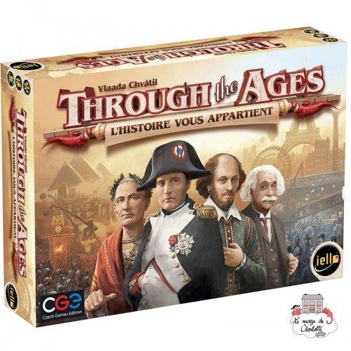 Through the Ages - L'Histoire vous Appartient - IEL-51281 - Iello - Board Games - Le Nuage de Charlotte