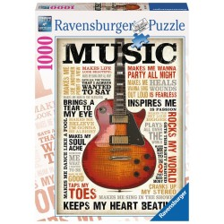 Passion for music - RAV0030 - Ravensburger - 1000 pieces - Le Nuage de Charlotte