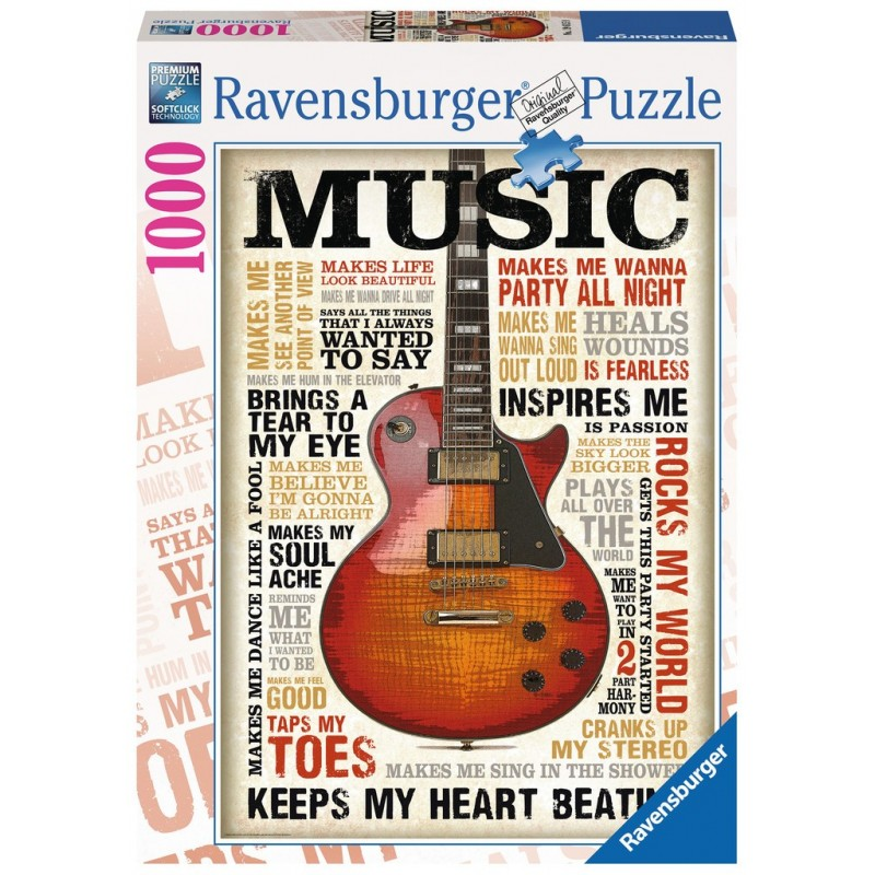 Passion for music - RAV-196159 - Ravensburger - 1000 pieces - Le Nuage de Charlotte