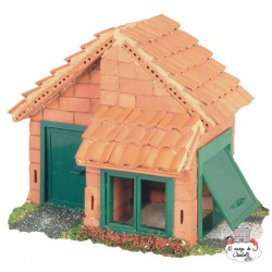 Teifoc House with tiles - TEI-4210 - Teifoc - Clay Bricks - Le Nuage de Charlotte