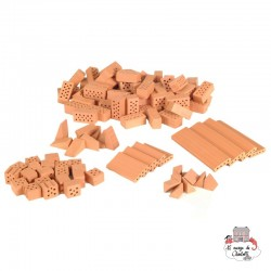 Teifoc Assortment Bricks - TEI-4090 - Teifoc - Clay Bricks - Le Nuage de Charlotte
