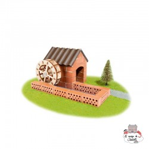 Teifoc Watermill - TEI-4030 - Teifoc - Clay Bricks - Le Nuage de Charlotte
