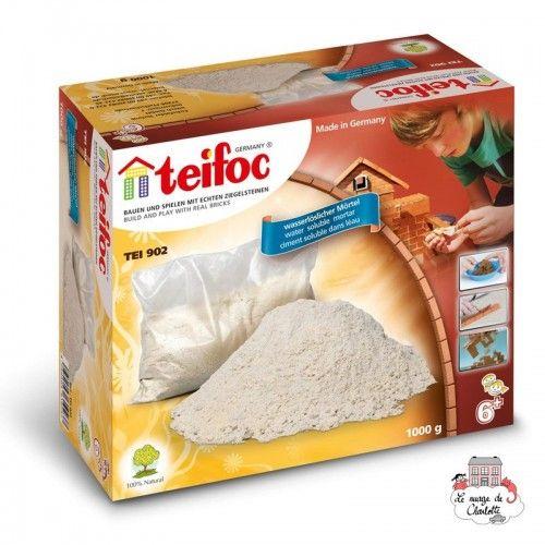 Teifoc Cement 1kg - TEI-902 - Teifoc - Clay Bricks - Le Nuage de Charlotte