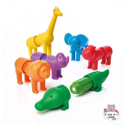 My First Safari Animals - SMT0042 - Smart - Magnetic elements - Le Nuage de Charlotte