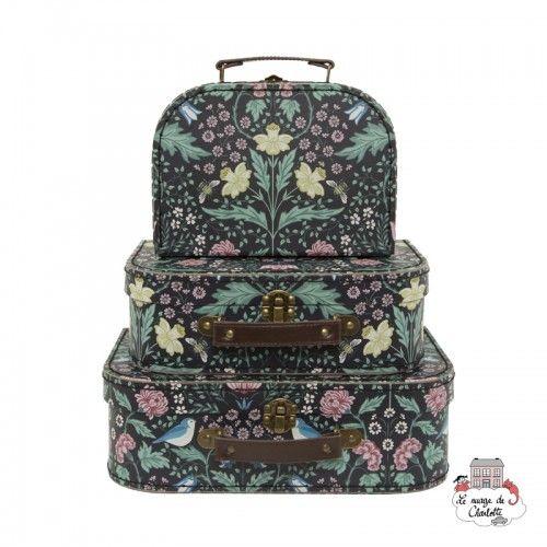 Midnight Garden Suitcases - Set of 3 - S&B0013 - Sass & Belle - Suitcases - Le Nuage de Charlotte