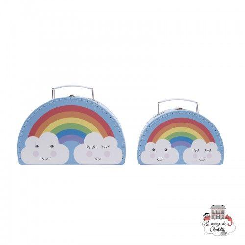 Day Dreams Suitcases - Set of 2 - S&B0014 - Sass & Belle - Suitcases - Le Nuage de Charlotte